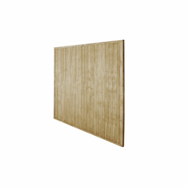 6ft x 6ft (1.83m x 1.83m) Pressure Treated Closeboard Fence Panel - Pack of 4