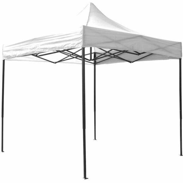 Airwave Gazebo 3x3 No Sides - White Steel & Polyester