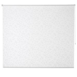 Azurro Corded White Foliage Daylight Roller Blind (W)120cm (L)195cm