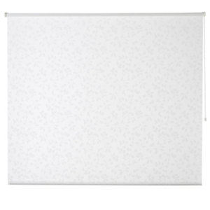 Azurro Corded White Foliage Daylight Roller Blind (W)90cm (L)195cm