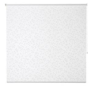 Azurro Cordless White Foliage Daylight Roller Blind (W)160cm (L)195cm