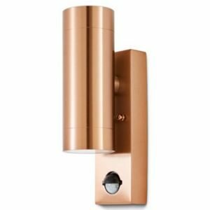 Blooma Candiac Adjustable Copper Effect Mains-Powered Led Outdoor Wall Light 760Lm