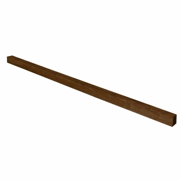 Brown Incised Fence Post - 8ft - Pack of 6