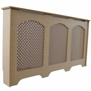 Colours Cambridge Large Brown Radiator Cover