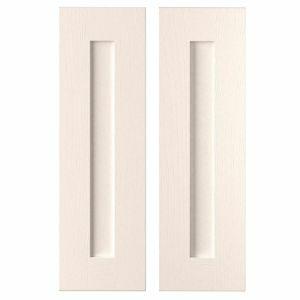 Cooke & Lewis Carisbrooke Ivory Framed Tall Corner Cabinet Door (W)250mm