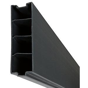 DuraPost Composite Gravel Board Anthracite Grey - 50mm x 150mm x 1.83m