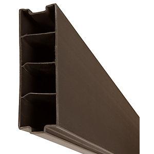 DuraPost Composite Gravel Board Sepia Brown - 50mm x 150mm x 1.83m