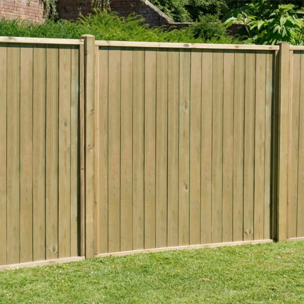 Forest Vertical Tongue & Groove Fence Panel - 5ft - Pack of 3