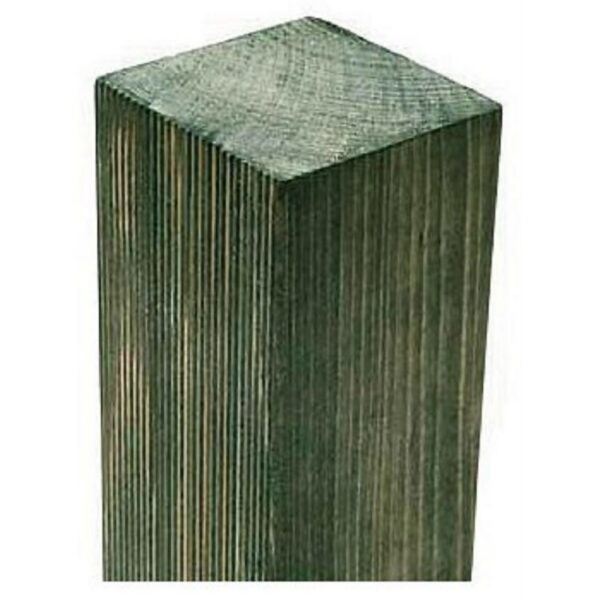 Forest Wooden Fence Post - 240 x 7.5 x 7.5cm