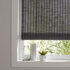 Java Corded Grey Plain Daylight Roller Blind (W)120cm (L)180cm