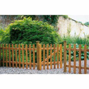 Pale Garden Gate