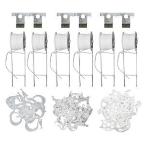 Palram Plastic Trellis Kit 2500Cm White