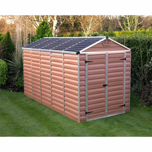 Palram SkyLight 6x12ft Amber Apex Shed