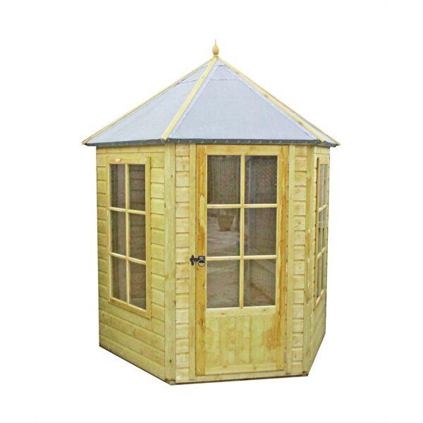 Shire Gazebo Summerhouse Pressure Treated - 7x6ft