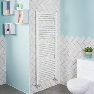 1500x600 Straight Central Heating Towel Rail Bathroom Heated Rad Radiator White
