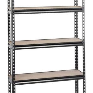 21659 Expert Heavy Duty Steel Shelving Unit - Five Shelves (L920 x W305 x H1830mm) - Draper