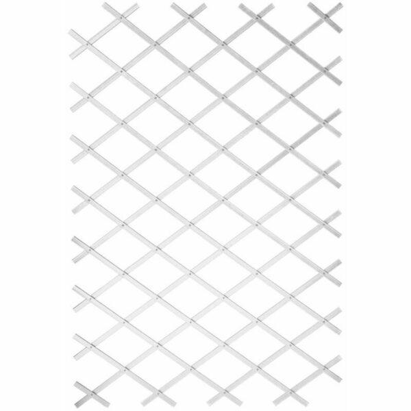 Nature Garden Trellis 100x300 cm PVC White - White