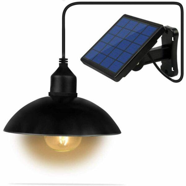 Solar Chandelier Outdoor Courtyard Garden Corridor Solar LED Waterproof Light Lighter (no bulb)